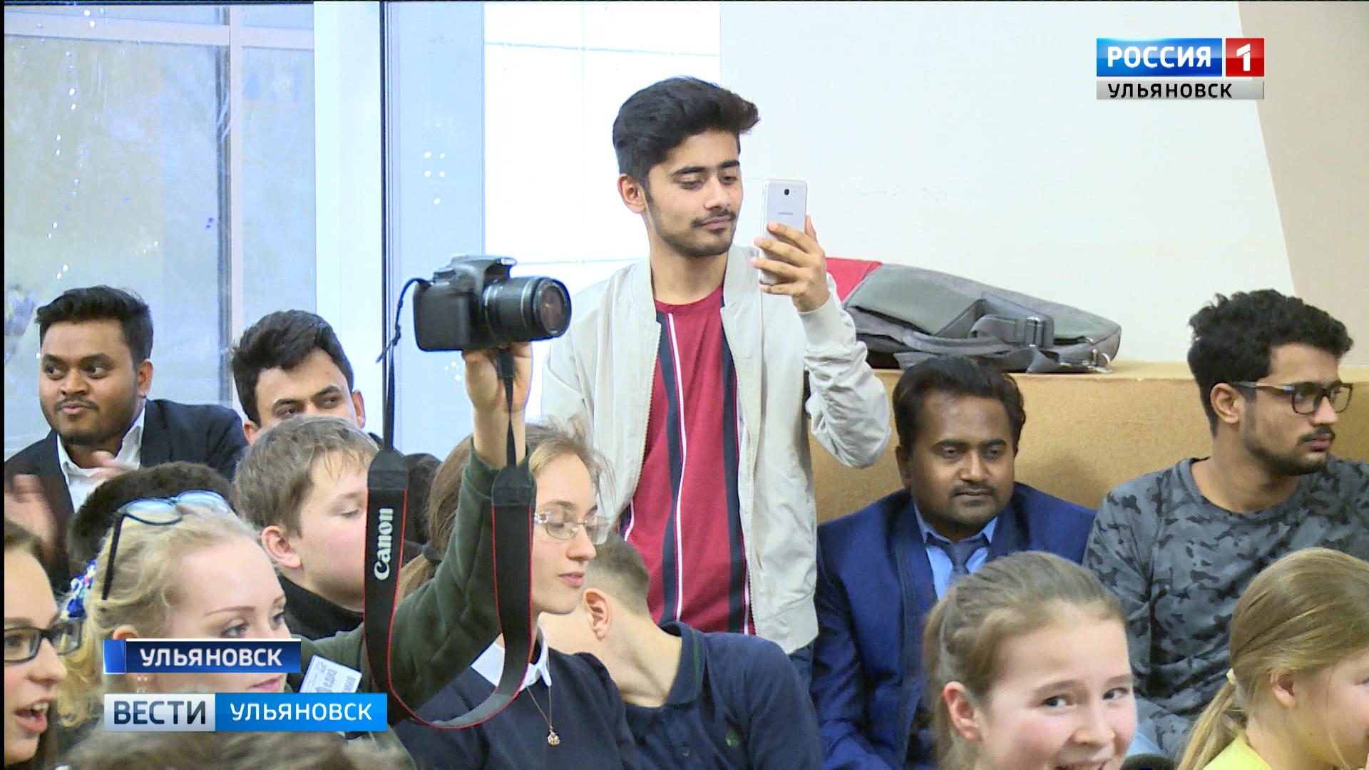 Иностранные студенты ульяновских ВУЗов