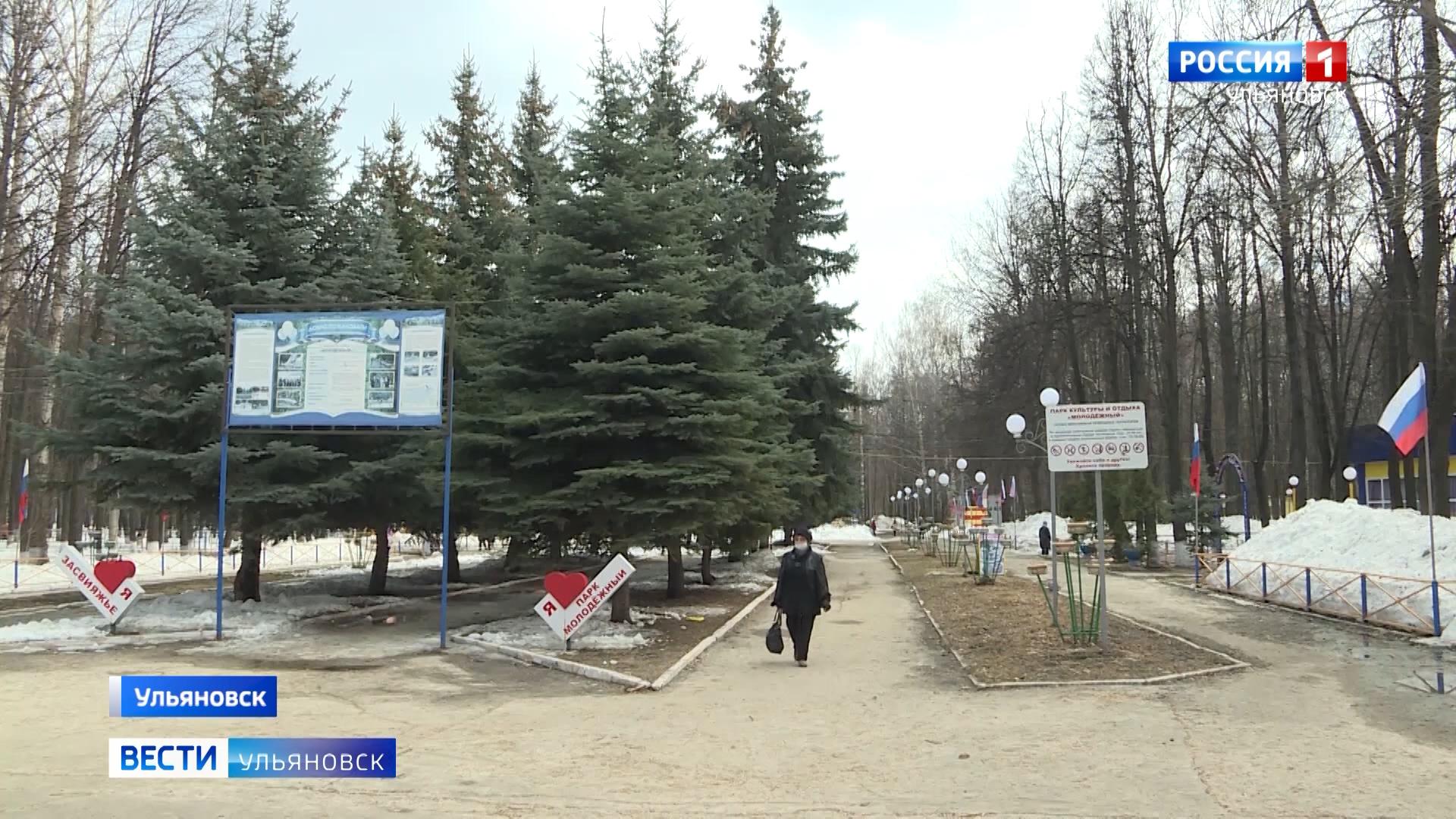 В Засвияжье планируется благоустроить парк Молодежный