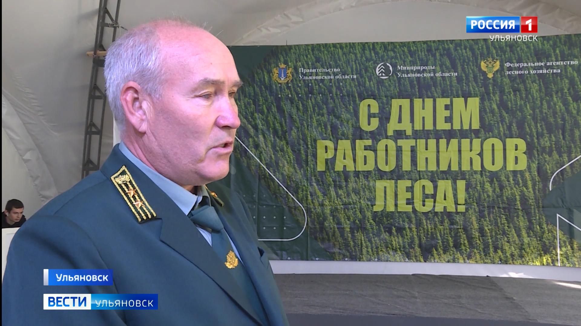 Ульяновские лесничие готовятся к профессиональному празднику